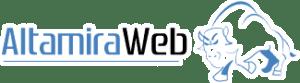 Logotipo altamira marketing online y diseño de tiendas web