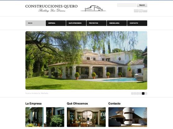 P ginas web para constructoras y arquitectos - Paginas de arquitectura y diseno ...