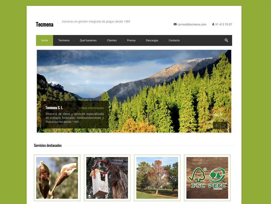 Dise o web para jardiner a y agricultura - Trabajo jardineria madrid ...