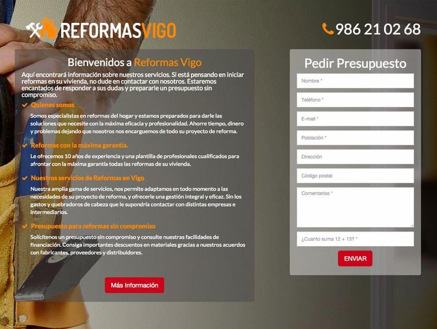 ᐅ Diseño web Vigo