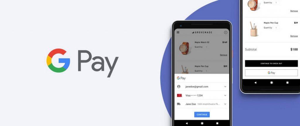 métodos de pago online más utilizados-google pay