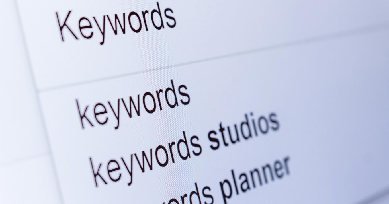 keywords en google