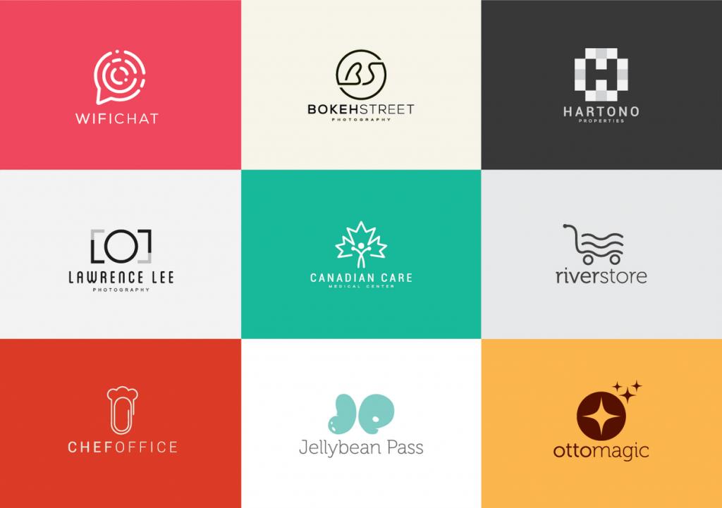 tendencias de logos 2019 logo minimalist