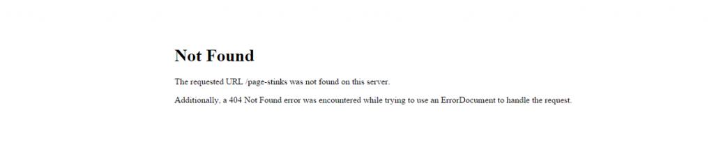 paginas error 404 por defecto