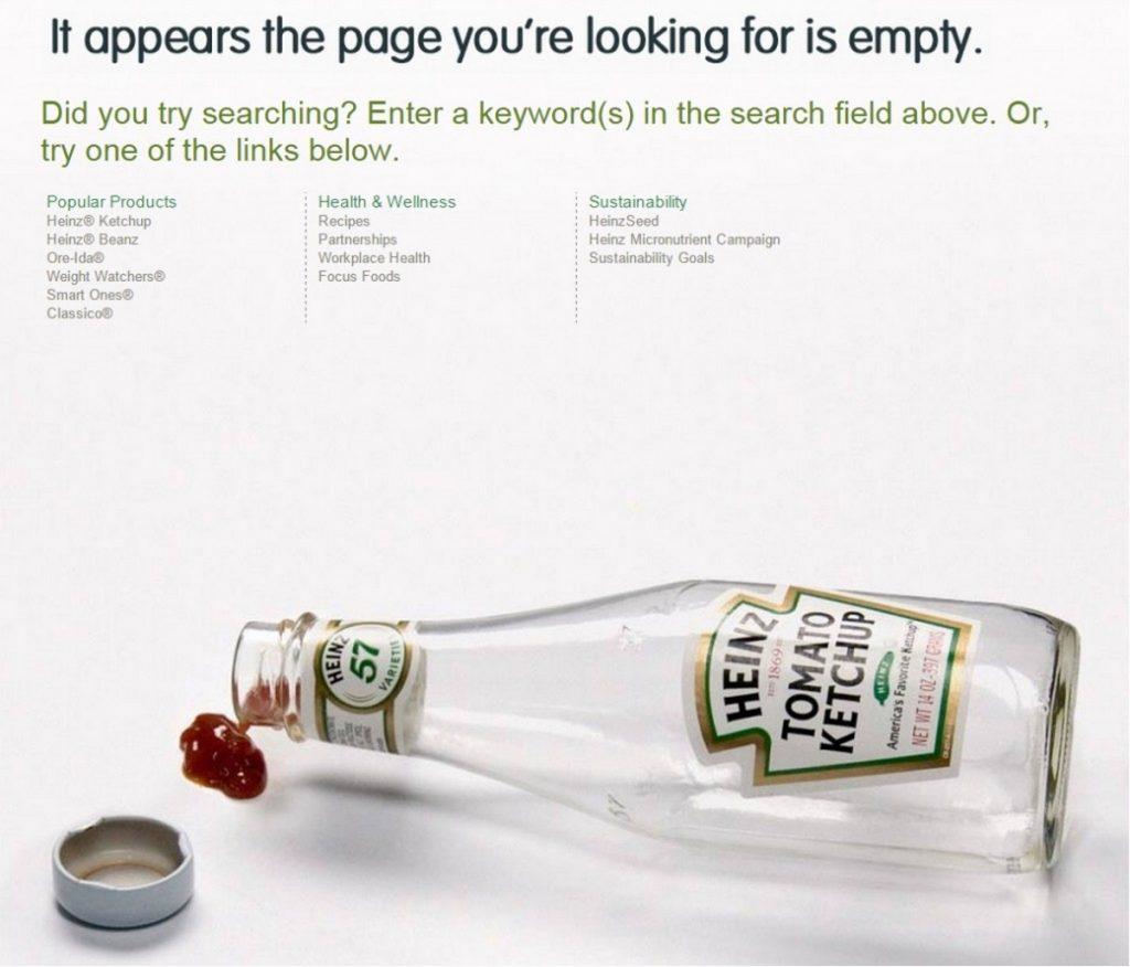 error 404 heinz