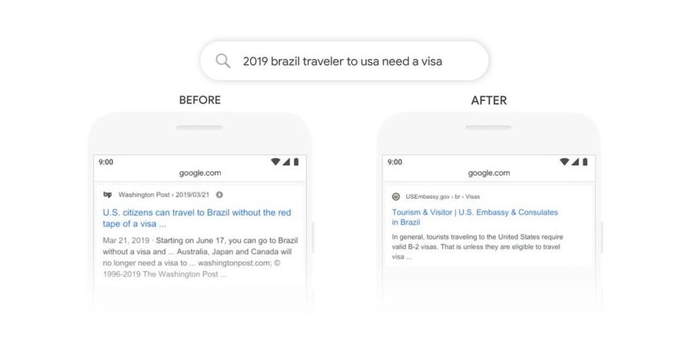 cambio algoritmo de Google Bert