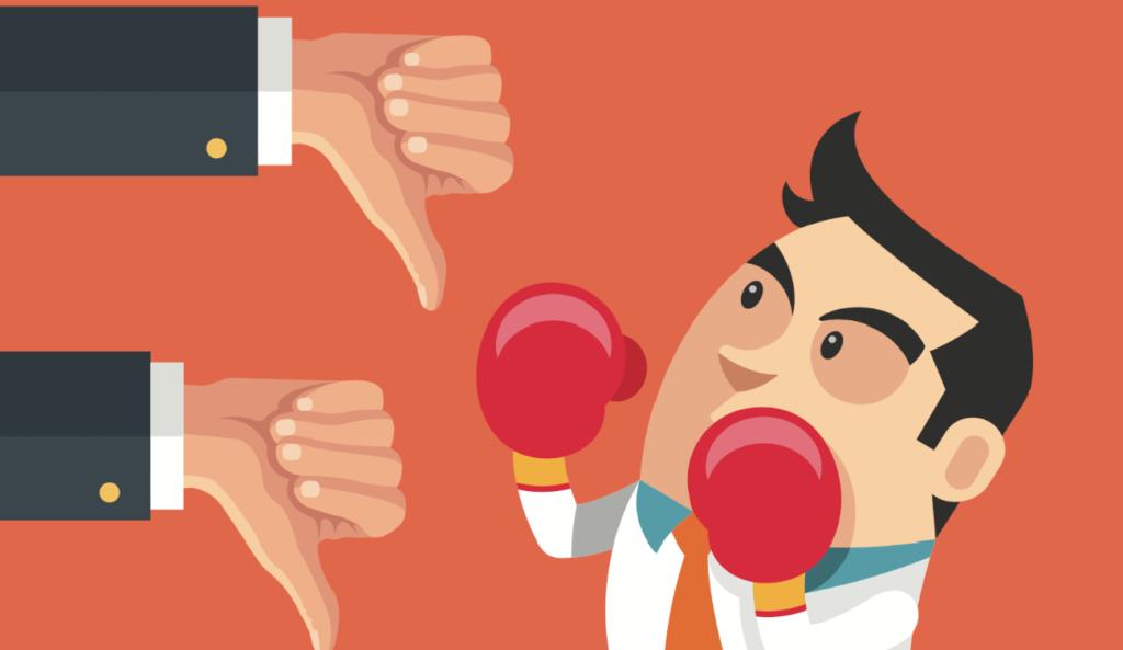 gestión de comentarios negativos en redes sociales