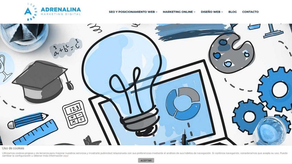 agencias SEO de España-Adrenalina