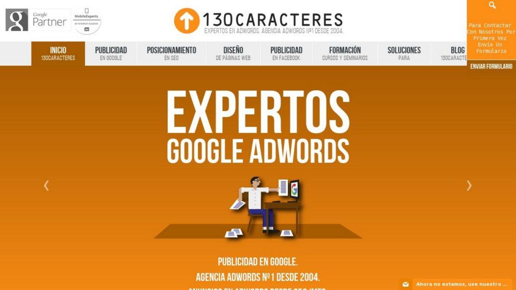 agencias SEO de España-Agencia 130Caracteres