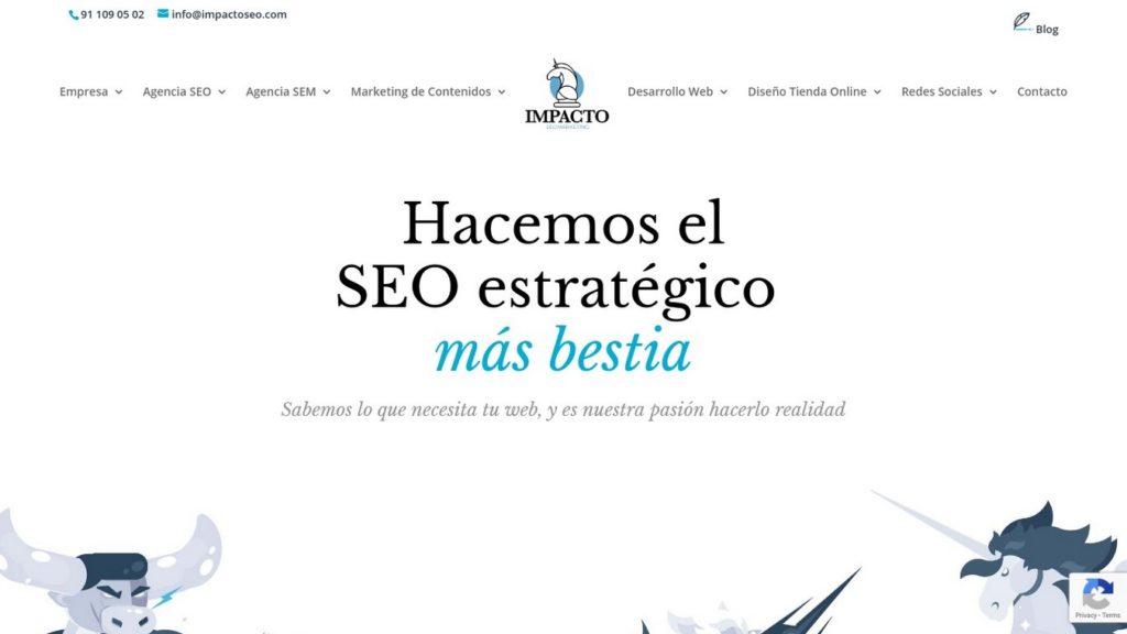 agencias SEO de España-Agencia Impacto SEO