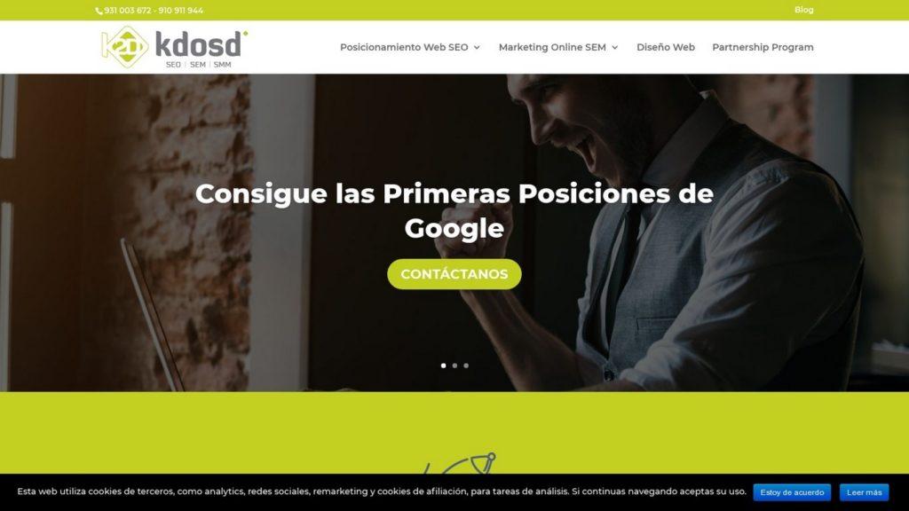 agencias SEO de España-Agencia Kdosd