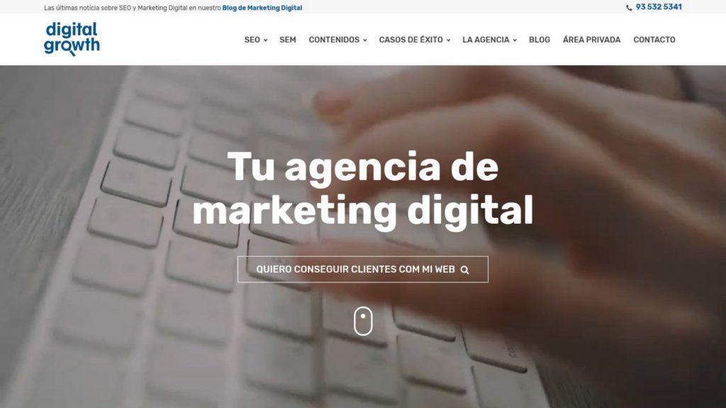 agencias SEO de España-Digital Growth