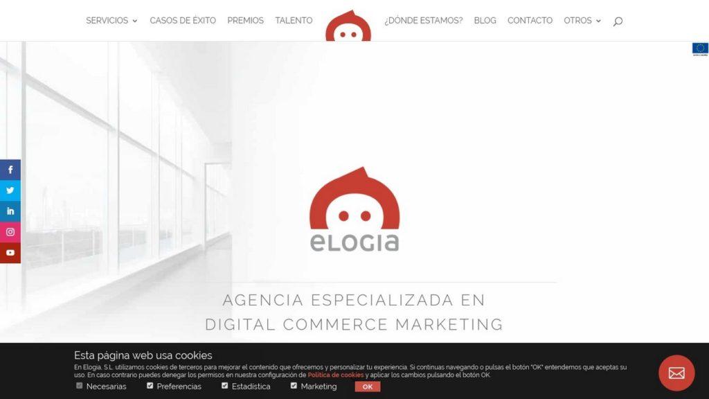 agencias SEO de España-Elogia