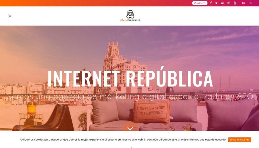 agencias SEO de España-Internet República