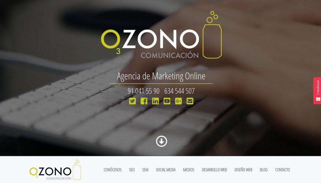 agencias SEO de España-Ozono