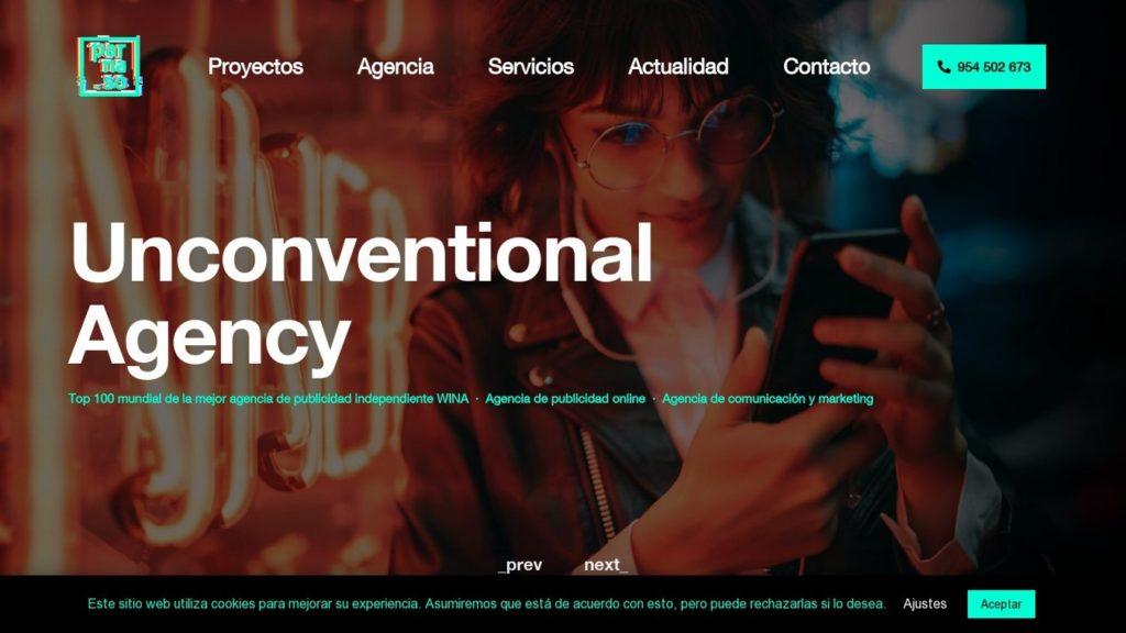 agencias SEO de España-Parnaso