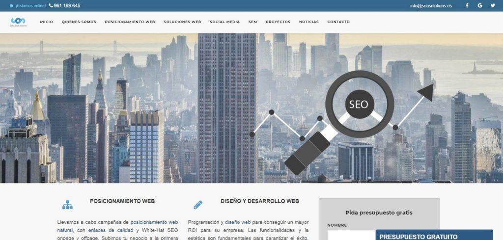 agencias SEO de España-SEO Solutions