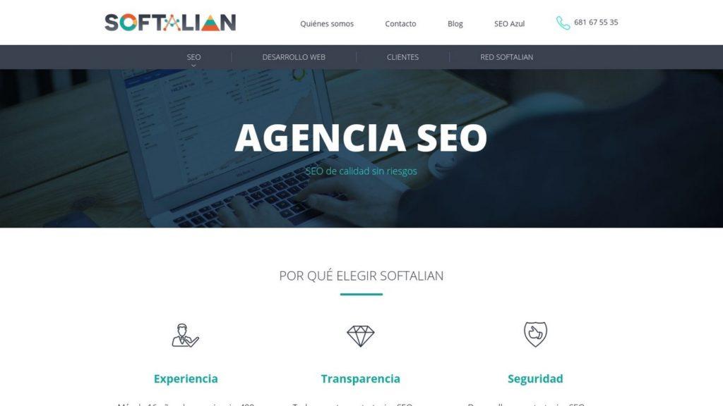 agencias SEO de España-Softalian