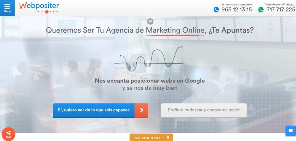 agencias SEO de España-WebPositer