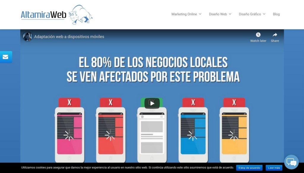 agencias SEO de España-altamira-web