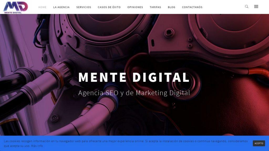 agencias SEO de España-mente digital