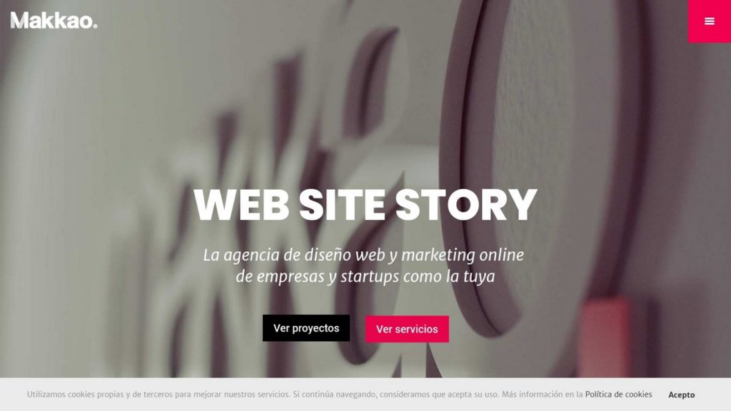 las mejores agencias de diseño web de España-Makkao