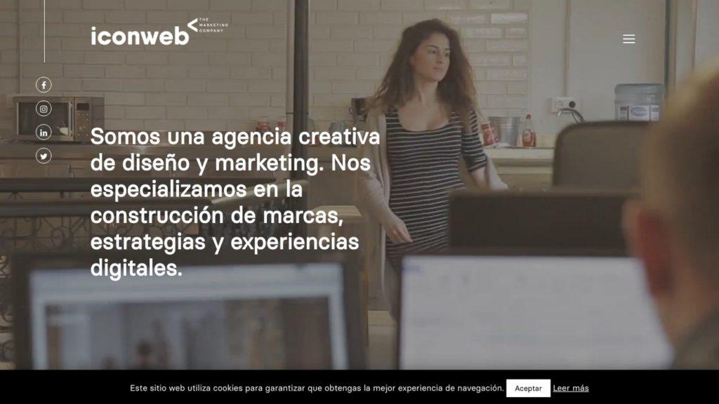 las mejores agencias de diseño web de España-iconweb