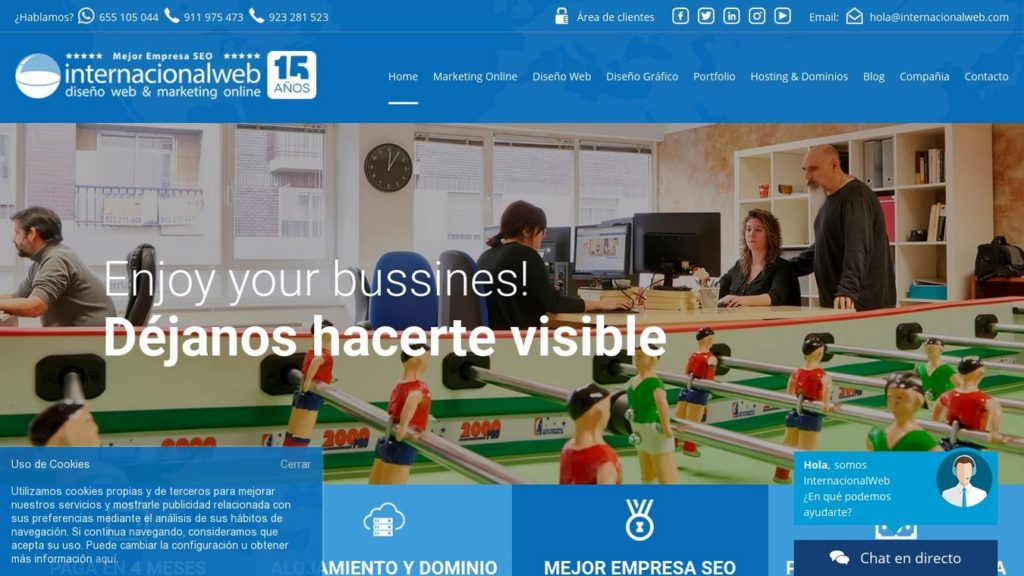 las mejores agencias de diseño web de España-internacionalweb