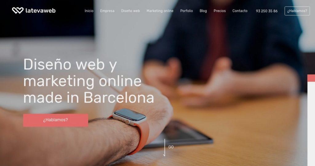 las mejores agencias de diseño web de España-latevaweb