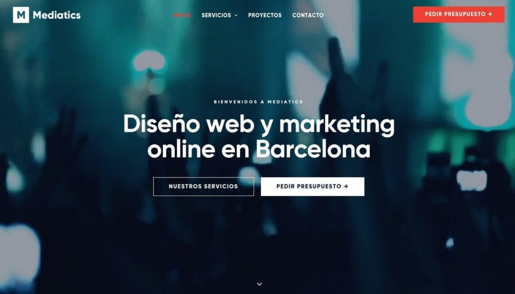 las mejores agencias de diseño web de España-mediatics
