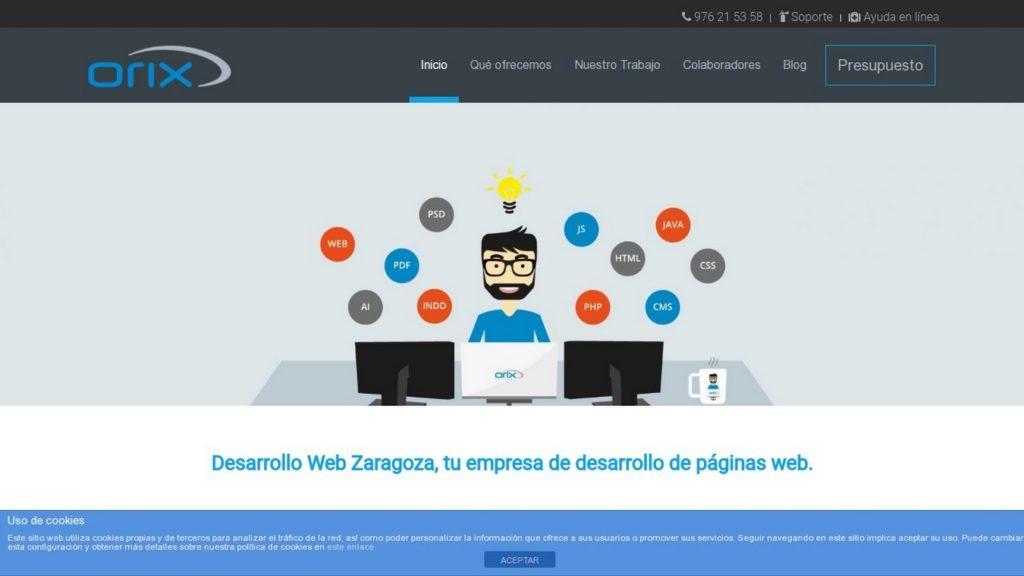 las mejores agencias de diseño web de España-orix