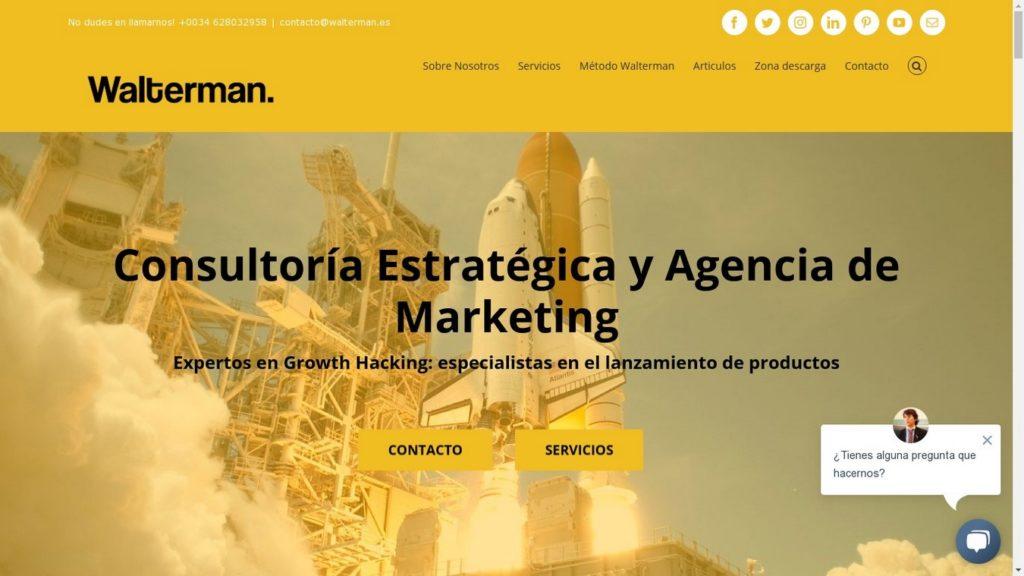 las mejores agencias de marketing online de España-Walterman