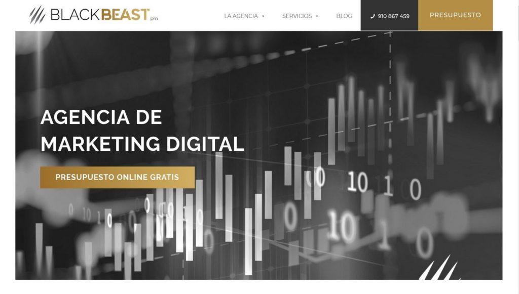 las mejores agencias de marketing online de España-blackbeast