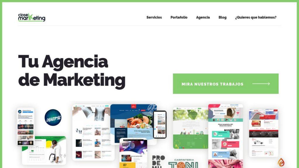 las mejores agencias de marketing online de España-closemarketing