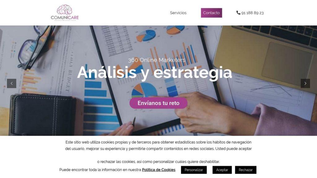 las mejores agencias de marketing online de España-comunicare