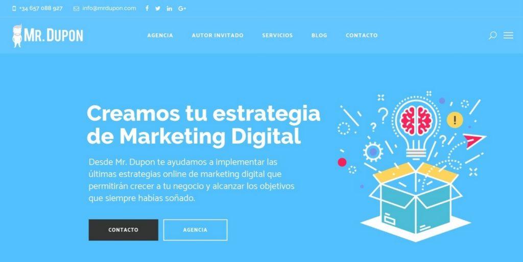 las mejores agencias de marketing online de España-mrdupon