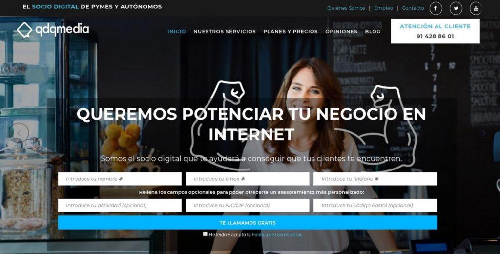 las mejores agencias de marketing online de España-qdqmedia