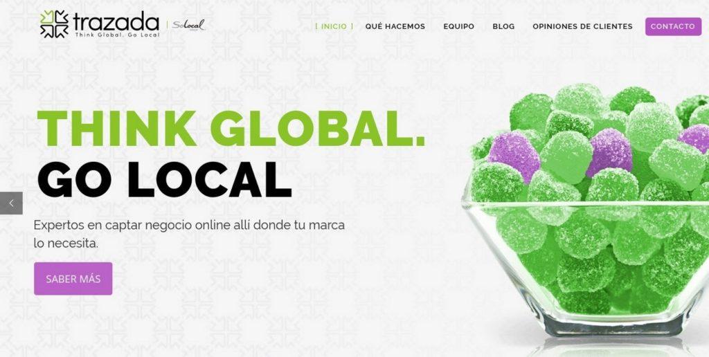 las mejores agencias de marketing online de España-trazada
