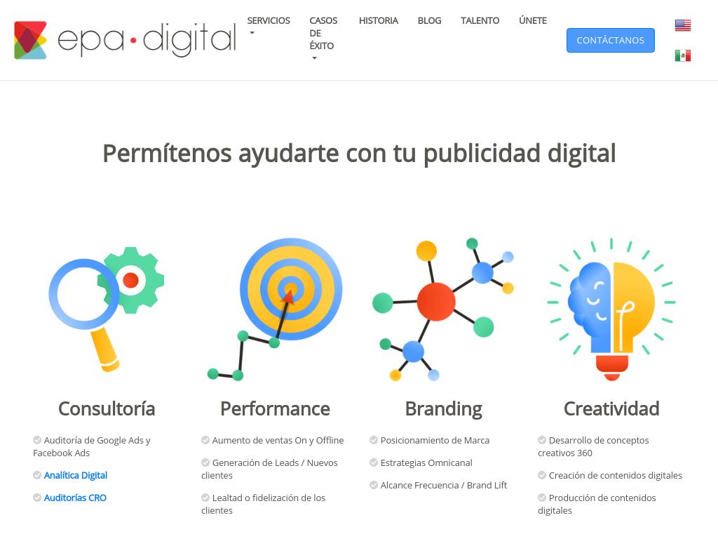 Las mejores agencias de marketing online de México-Epa digital