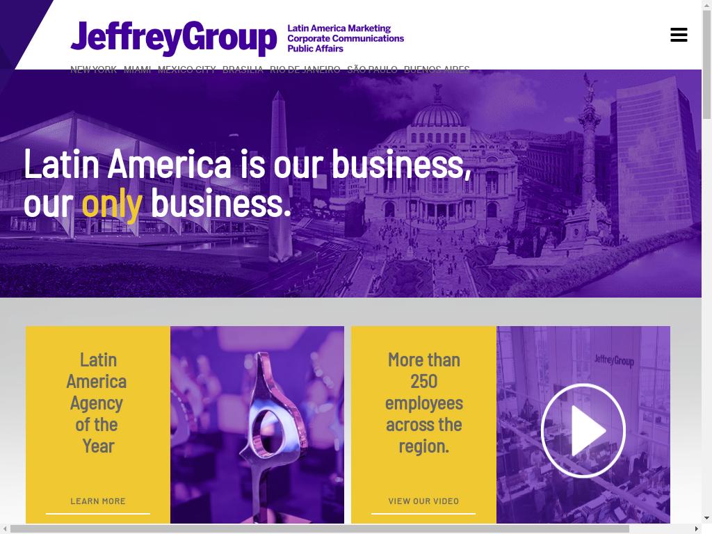 Las mejores agencias de marketing online de México-Jeffrey Group