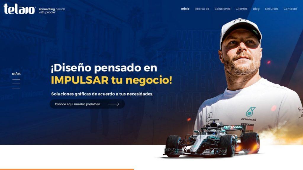agencias de diseño web de México-Telaio