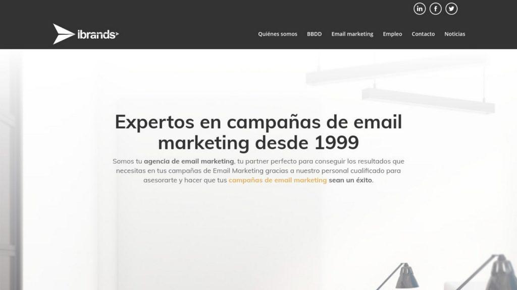agencias de diseño web de México-ibrands