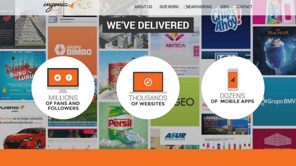 agencias de diseño web de México-ingenia