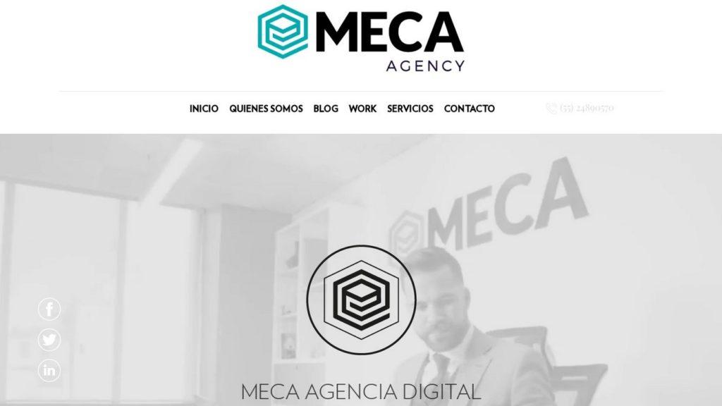 agencias de diseño web de México-meca