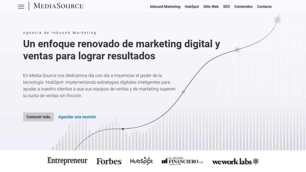 agencias de diseño web de México-mediasource