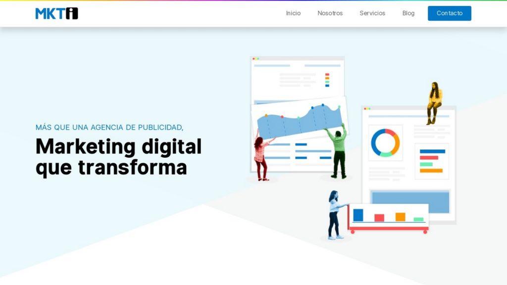 agencias de diseño web de México-mkti