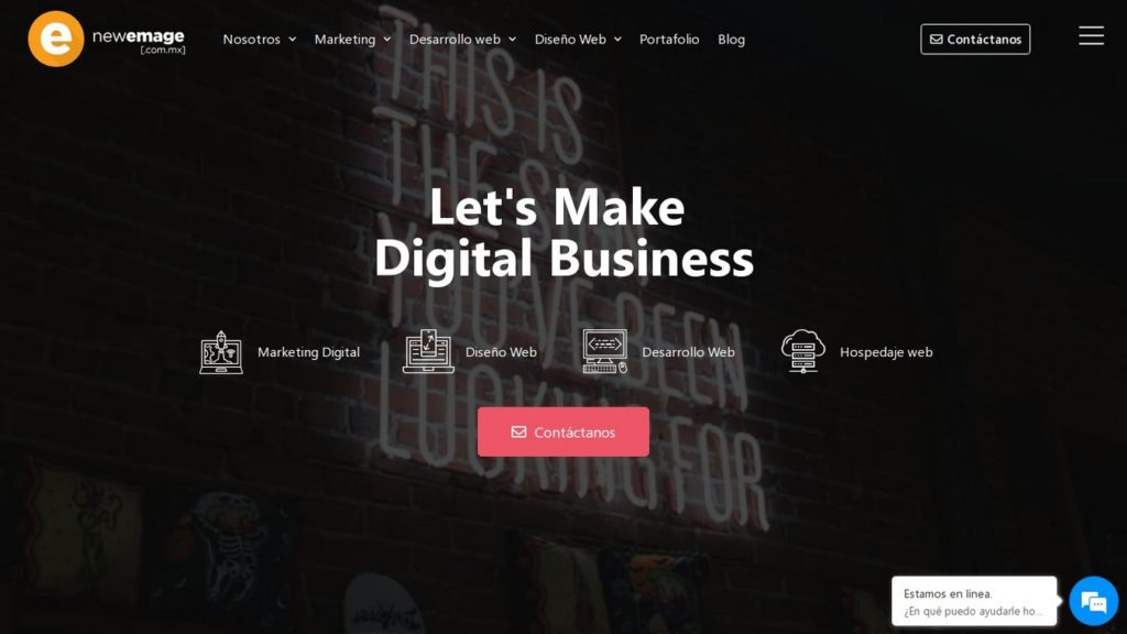 agencias de diseño web de México-newemage