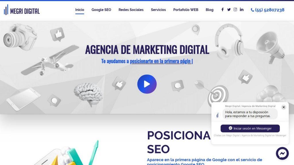 las mejores agencias SEO de México-Megri Digital