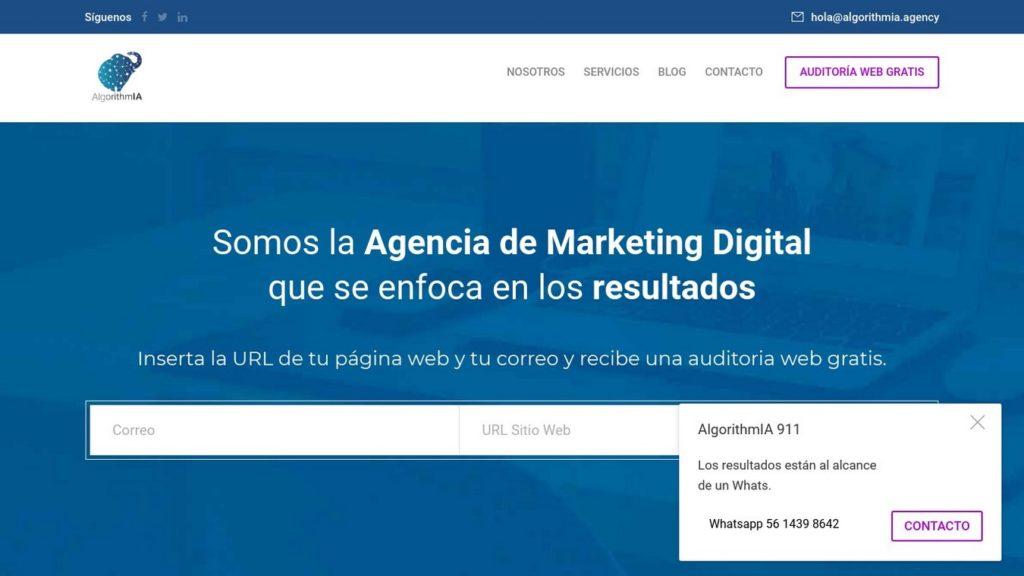 las mejores agencias SEO de México-algorithmia