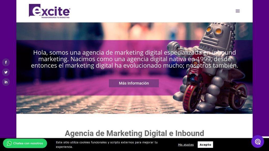 las mejores agencias SEO de México-excite